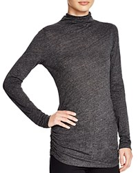 Velvet By Graham And Spencer Turtleneck Sweater Charcoal