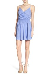 Junior Women's Frenchi Surplice Slipdress
