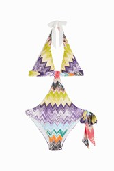 Missoni Women S Halterneck Swimsuit Boutique1 6050