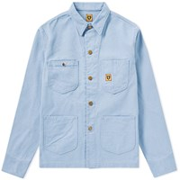 Human Made Pastel Coverall Jacket Blue