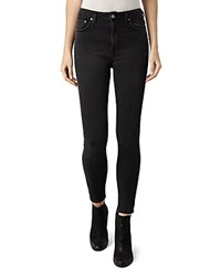 Allsaints Stilt Skinny Jeans In Dark Grey Dark Gray