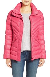 Women's Halogen Hooded Quilted Down Jacket