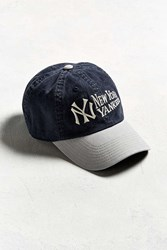 Urban Outfitters American Needle Dyer New York Yankees Baseball Hat Navy