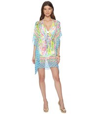 Lilly Pulitzer Gardenia Cover Up Multi Catch The Wave Engineered Swimwear