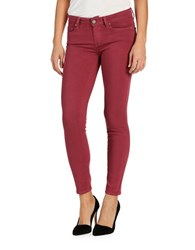 Paige Ultra Skinny Ankle Jeans Hawthorne Rose