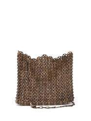 Paco Rabanne Iconic 1969 Chain Shoulder Bag Bronze