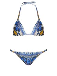 Camilla Seeing Stars Print Ball Bikini Blue Multi