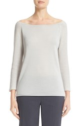 Fabiana Filippi Women's Sequin Sleeve Cashmere And Silk Top