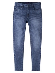 Violeta By Mango Super Slim Fit Vladi Jeans Open Blue