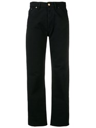 Jacquemus Bootcut Denim Black