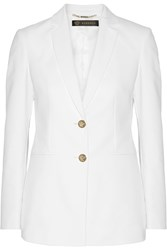 Versace Stretch Cotton Blend Blazer