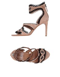 Alaia Sandals Light Brown
