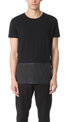 Scotch And Soda Colorblock Tee Black