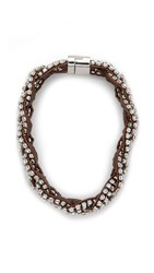 Juliet And Company Anna Necklace Clear Multi