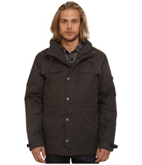 Rvca Wright Ii Pirate Black Men's Coat