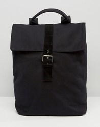 Mi Pac Canvas Day Pack Backpack Black Black