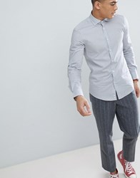 United Colors Of Benetton Slim Fit Shirt In Stretch With Check Multi