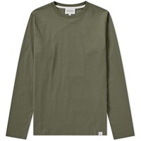 Norse Projects Long Sleeve Niels Standard Tee Green