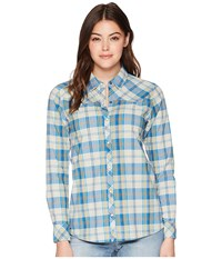 Outdoor Research Jolene Snap Front Shirt Tahoe Clothing Blue