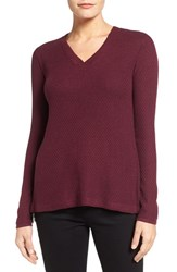 Wit And Wisdom Women's Layered Back Zip Sweater