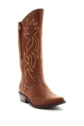 Michael Antonio Bermuda Cowgirl Boot Brown
