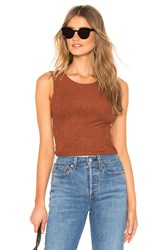 Privacy Please Aria Top Brown