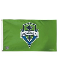 Wincraft Seattle Sounders Fc Deluxe Flag Green