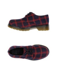 Never Ever Lace Up Shoes Brick Red