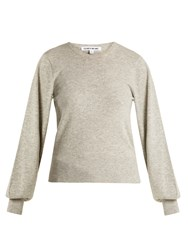 Elizabeth And James Bretta Long Sleeved Knit Sweater Grey