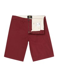 Lyle And Scott Chino Short Red