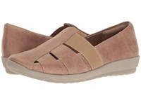 Easy Spirit Alani Taupe Taupe Fabric Women's Shoes