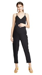 Hatch The Georgie Jumpsuit Black
