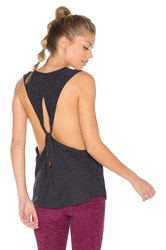Beyond Yoga Dim The Lightweight Looped Tank Charcoal
