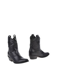 Peter Flowers Footwear Ankle Boots Women Black