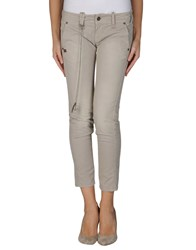 Daniele Alessandrini Trousers 3 4 Length Trousers Women Light Grey