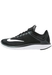 Nike Performance Fs Lite Run 4 Competition Running Shoes Black White Anthracite Cool Grey