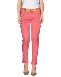 Maison Espin Trousers Casual Trousers Women Salmon Pink