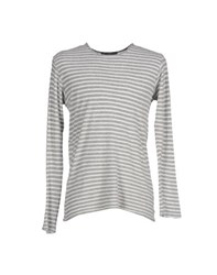Private Lives Knitwear Jumpers Men Grey