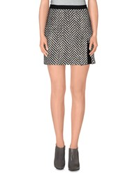 Emanuel Ungaro Skirts Mini Skirts Women Black