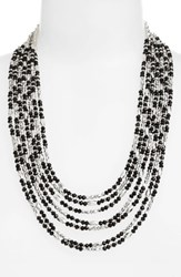 Cristabelle Beaded Multistrand Necklace