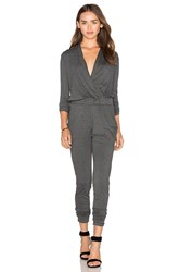 Candc California Ronnie Jumpsuit Charcoal