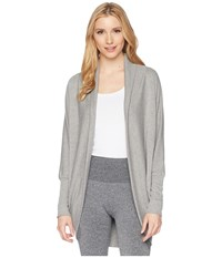 Jockey Active Cocoon Wrap Light Charcoal Sweater Gray
