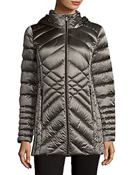 Saks Fifth Avenue Packable Quilted Jacket Champagne