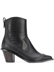 Reike Nen Western Style Ankle Boots 60