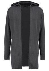 Only And Sons Onsandor Cardigan Grey Pinstripe