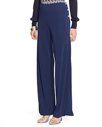 Lauren Ralph Lauren Wide Leg Sailor Pants Beacon Navy