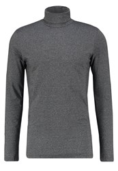 New Look Long Sleeved Top Grey Pattern