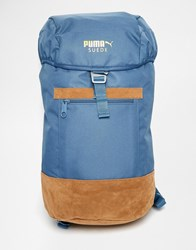 Puma Suede Backpack Blue