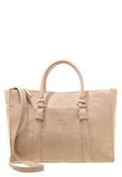 Pepe Jeans Umay Tote Bag Taupe Beige