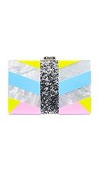 Milly Geo Square Clutch Multi